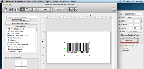 Mac Barcode Maker Software - Frequently Asked Questions (FAQ)