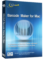 Barcode Maker for Mac box