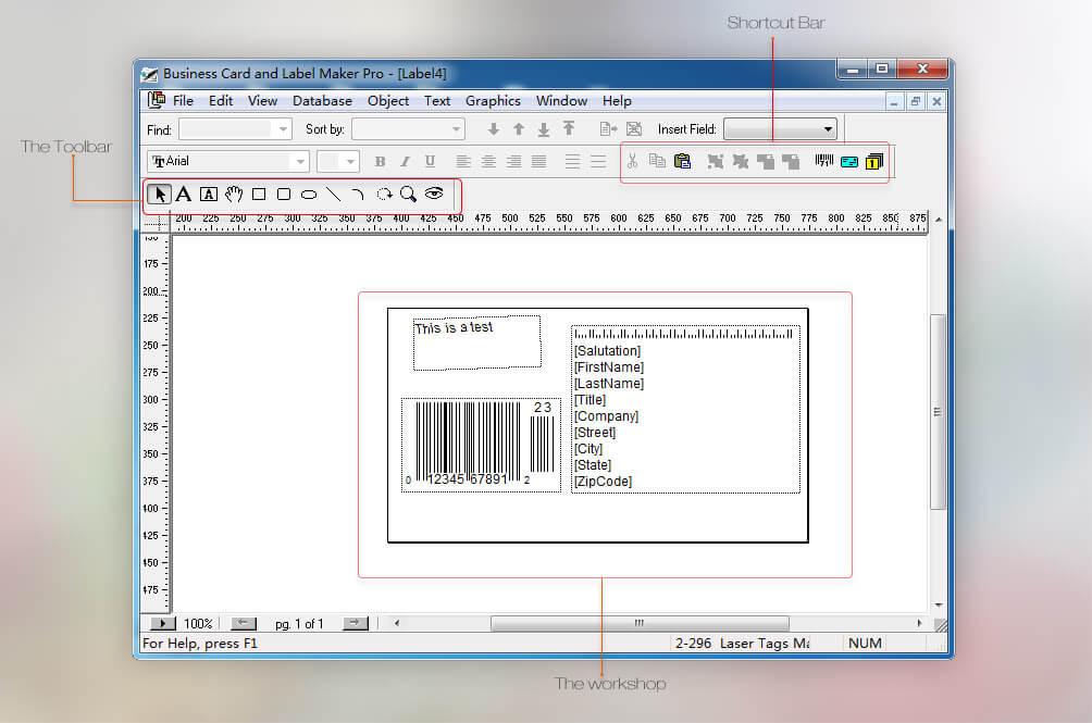 Business card and label maker pro help you make and print ui reheart Images