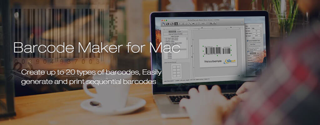 Mac Barcode Maker, Barcode Label software for Create ISBN, UPC, EAN
